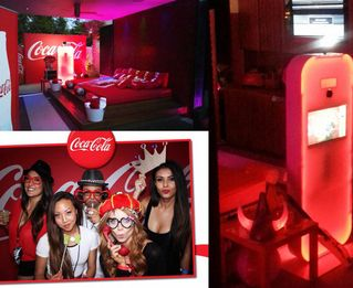 Branding on Photo Booths and photos