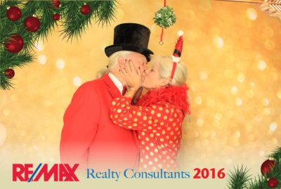 Green Screen Holiday Party Photo Booth Rental