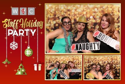 Corporate Holiday Party Photo Booth Rental