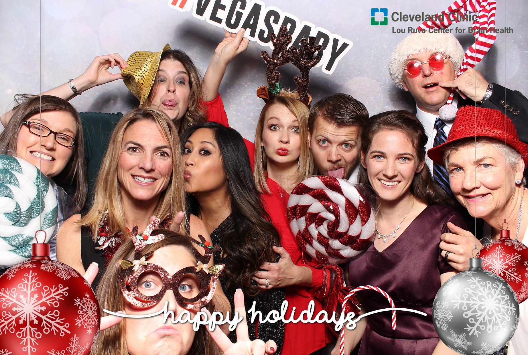 Holiday Party Photo Booth Rental