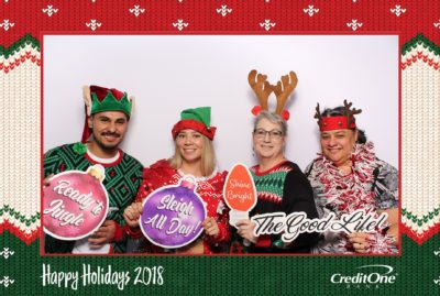 Holiday Party Photo Booth Rental for Corporate Events